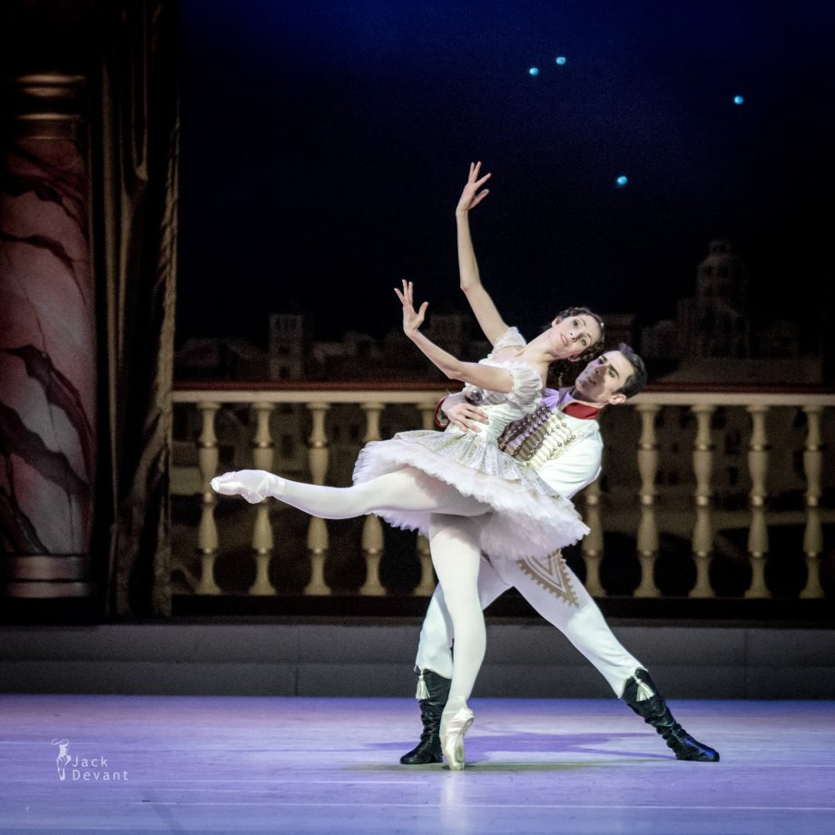Grand Pas Classique, with Daria Sukhorukova as Paquita and Tigran Mikayelyan as Lucien (2014), photo by Jack Devant©
