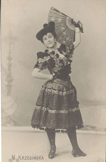 Matilda Kschessinskaya as Paquita (1895)