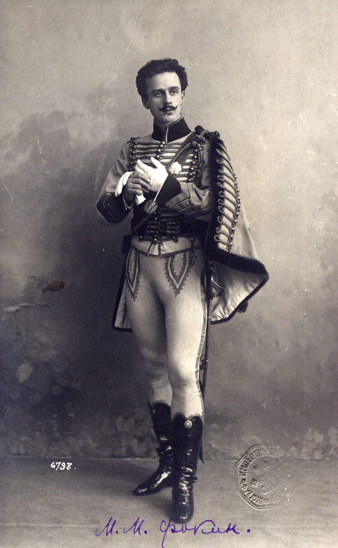 Mikhail Fokine as Lucien d'Hervilly (1904)