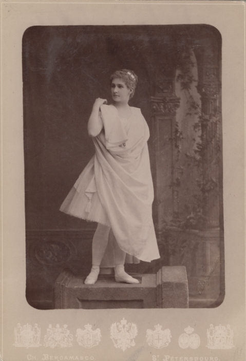 Eugenia Sokolova as Galatea (1883)