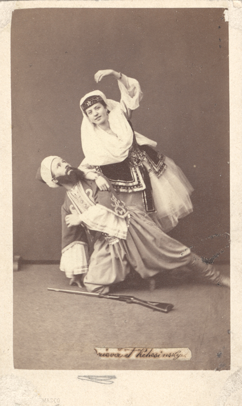 Felix Kschessinsky and Matilda Madayeva (1863)