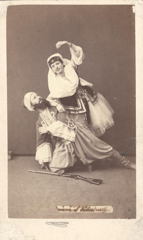 Felix Kschessinsky and Matilda Madayeva (1863)