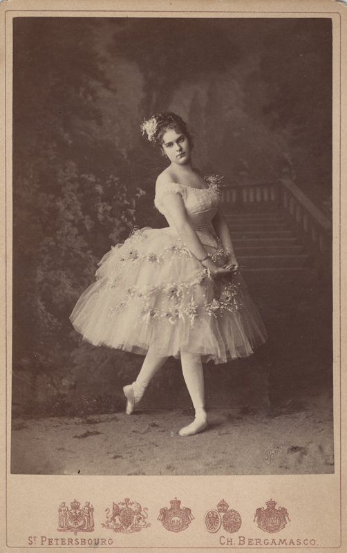 Maria Surovshchikova-Petipa as the Blue Dahlia (1860)