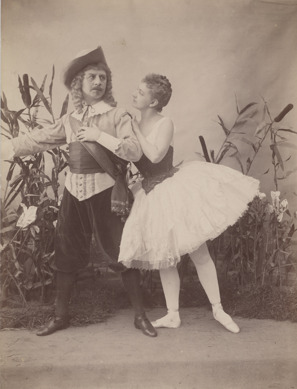 Pavel Gerdt as Peters and Anna Johansson as Emma (1892)