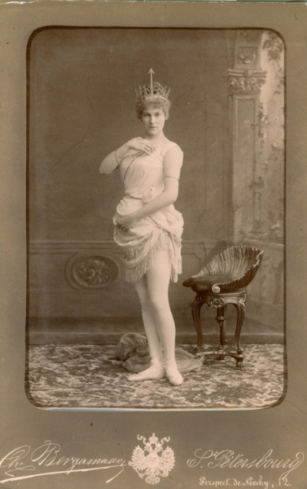 Marie Petipa as Venus (1888)