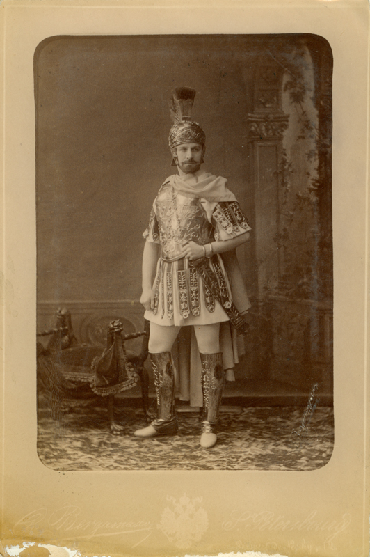 Pavel Gerdt as Lucio (1888)