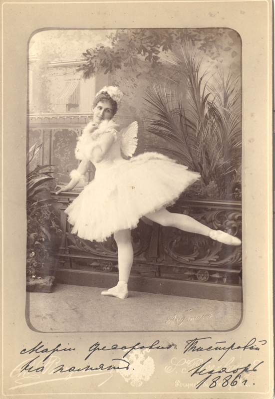 Eugenia Sokolova as Bettli (1884)