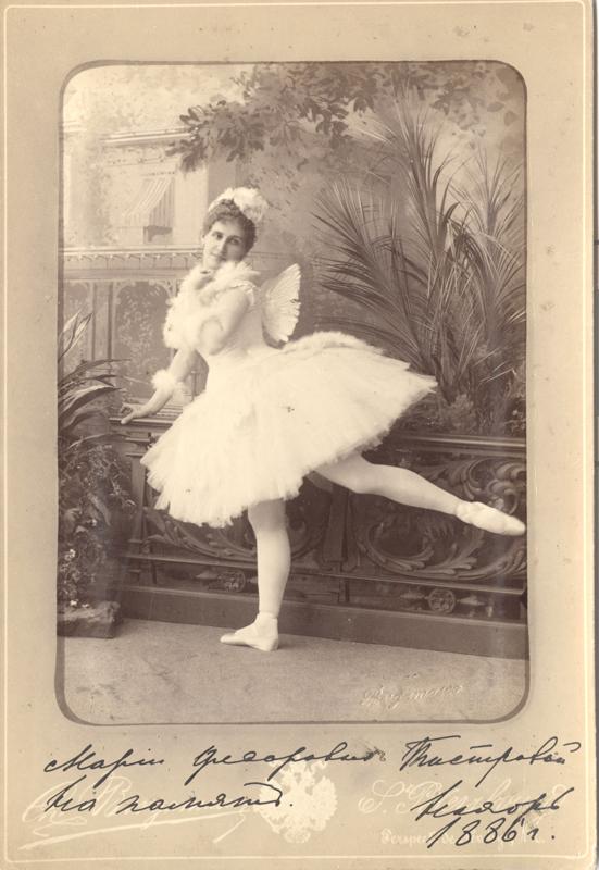Eugenia Sokolova as Bettli (1884)