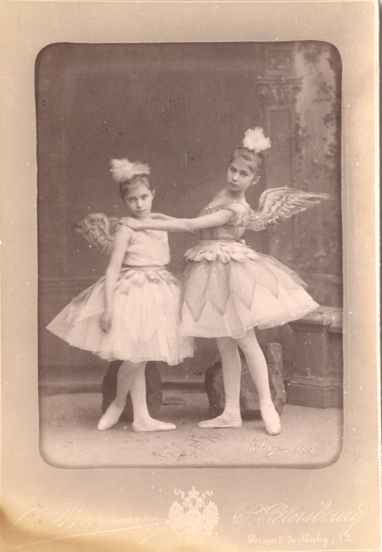 Students from the Imperial Ballet School (1884)
