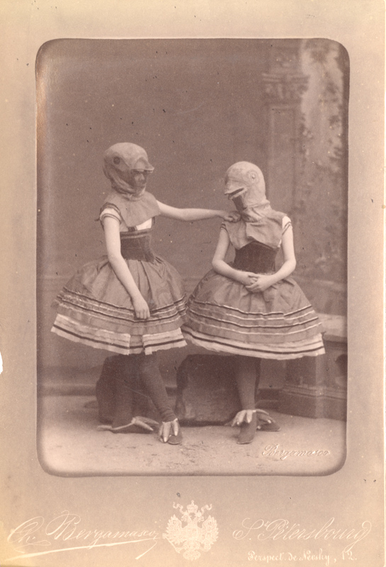 Students from the Imperial Ballet School as Birds (1884)