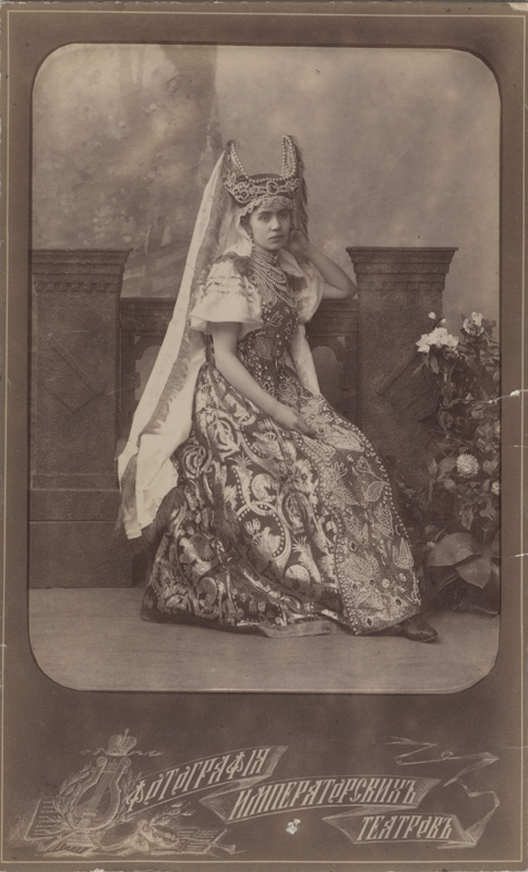 Nadezhda Petipa as the Wife of the Russian Ambassador