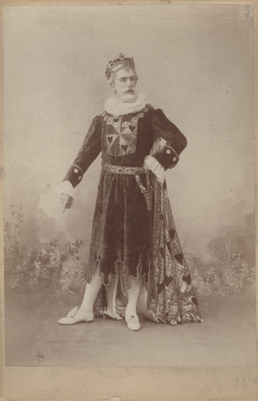 Nikolai Aistov as the King (1893)