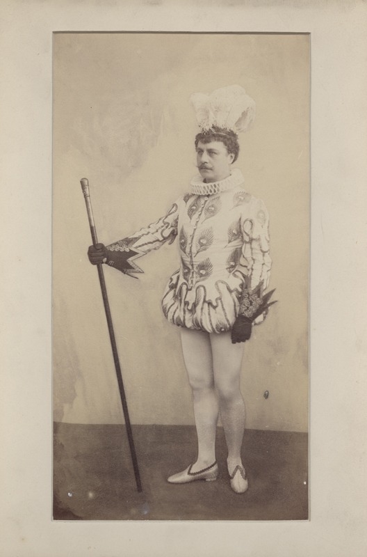 Pavel Gerdt as Prince Charming (1893)