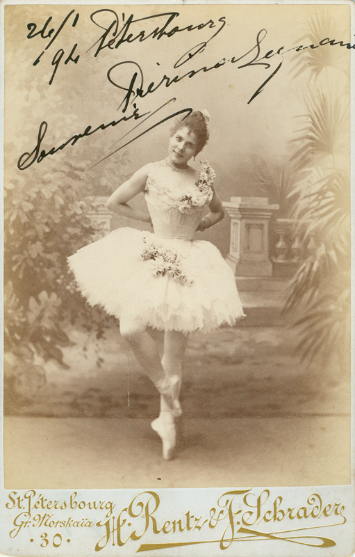 Pierina Legnani as Cinderella (1893)