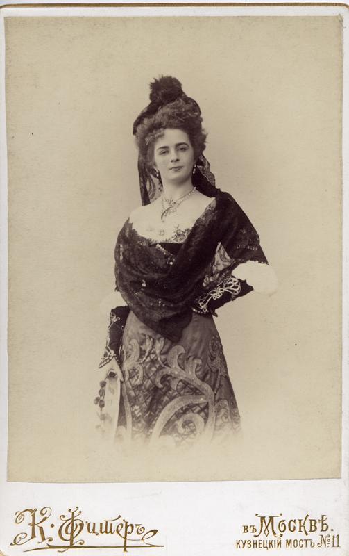 Ekaterina Geltser as Kitri (1900s)