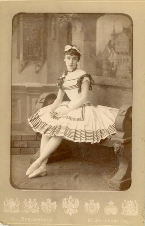 Maria Gorshenkova as Giselle (1887)