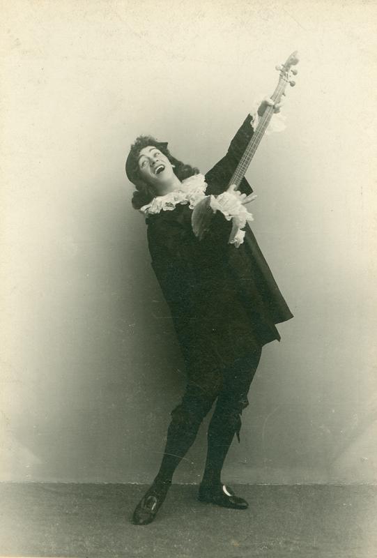 Nikolai Legat as Leander (1900s)