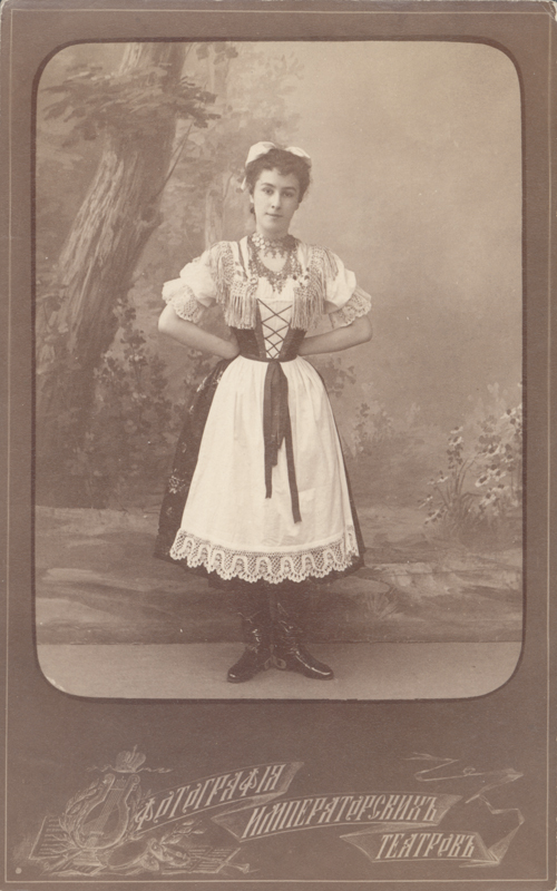 Matilda Kschessinskaya as Marietta/Draghiniatza (1892)