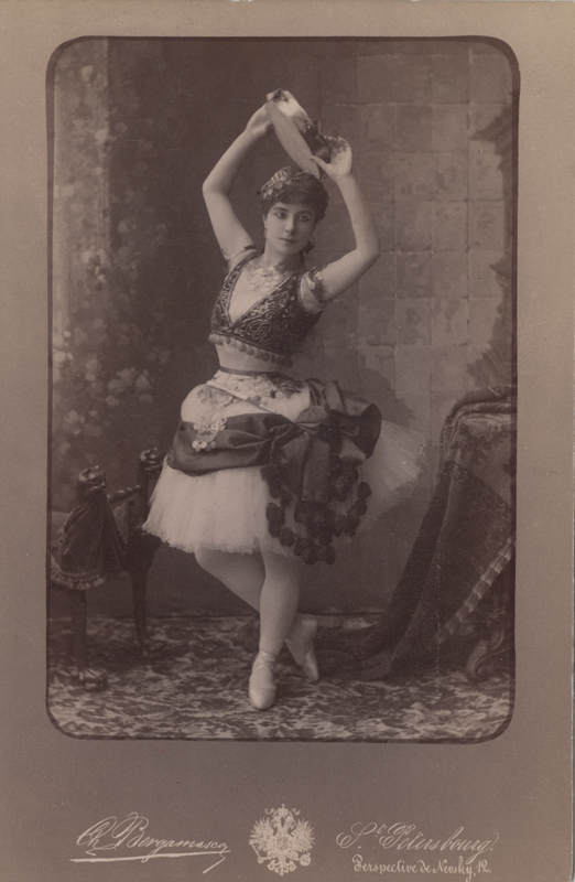 Carlotta Brianza as Esmeralda (ca. 1890)