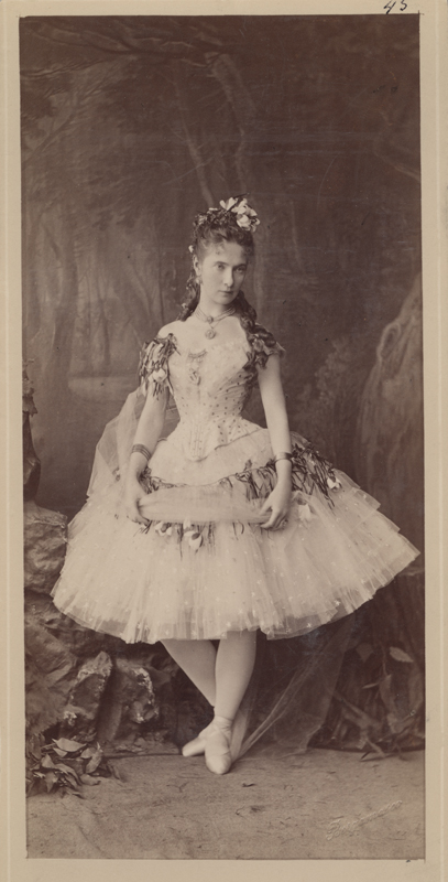 Ekaterina Vazem as the Daughter of the Danube (1880)