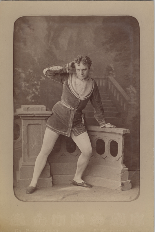 Pavel Gerdt as Rudolf (1880)