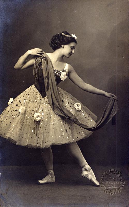 Tamara Karsavina as Medora (1908)