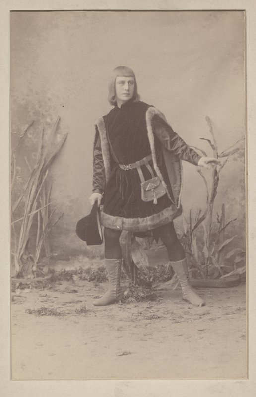 Pavel Gerdt as Franz (1890)