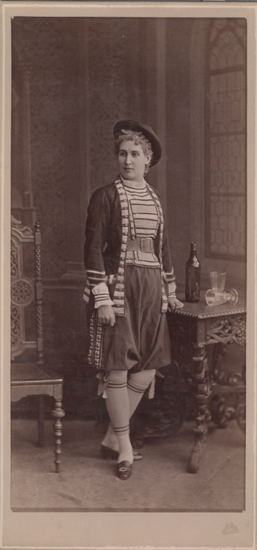 Eugenia Sokolova as Paquerette (1882)