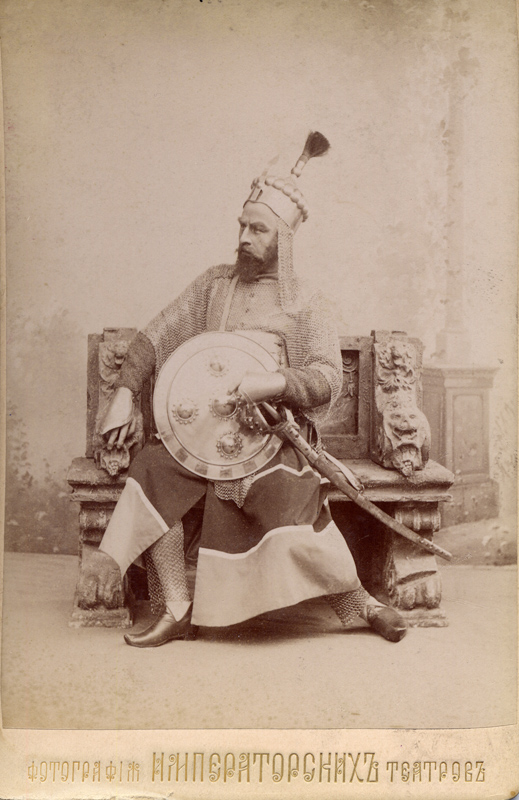 Pavel Gerdt as Abderakhman (1898)