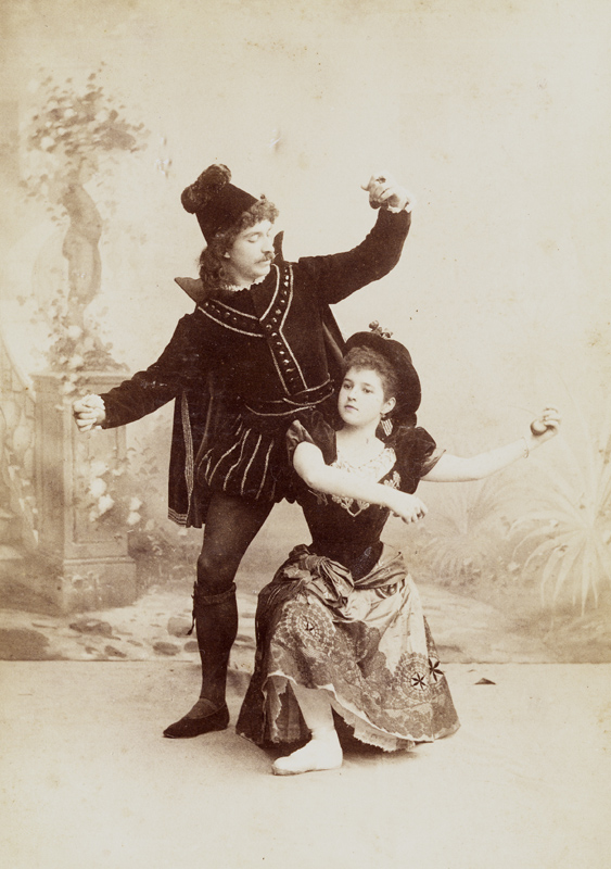 Alexander Shiryaev and Natalia Matveyeva in the Spanish Dance (1895)