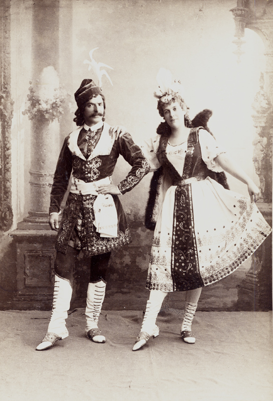 Alfred Bekefi and Marie Petipa in the Czardas (1895)