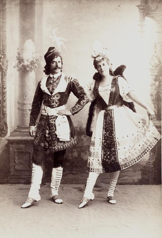 Alfred Bekefi and Marie Petipa in the Czardas (1895)