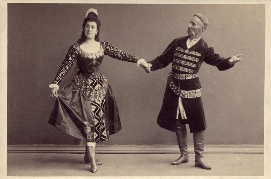 Julia Kschessinskaya and Felix Kschessinsky in the Mazurka (1895)