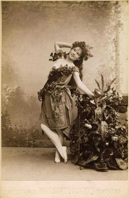 Anna Urakova as a Bacchante (1894)
