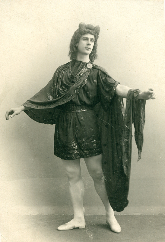 Mikhail Fokine as Helios (1900)