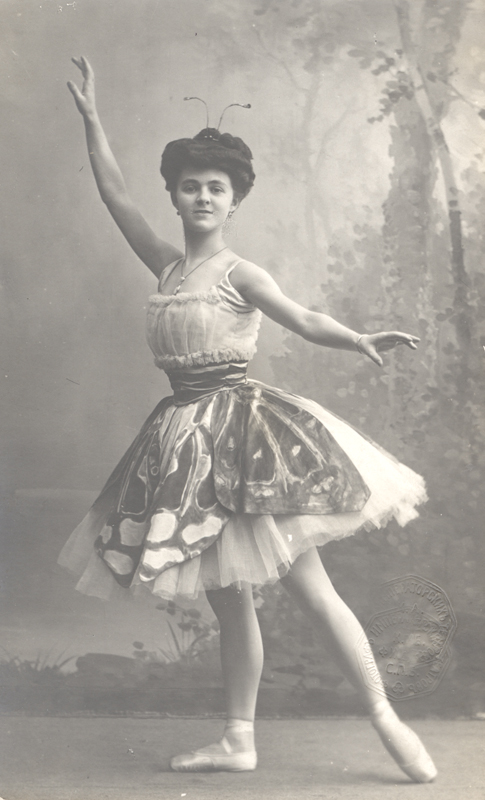 Elsa Will as the Butterfly (1910s)