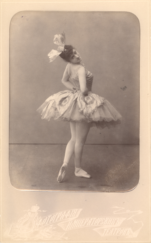 Varvara Nikitina as the Butterfly (1889)