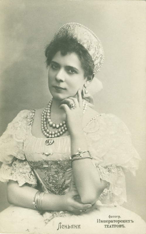 Pierina Legnani as the Tsar Maiden (1895)