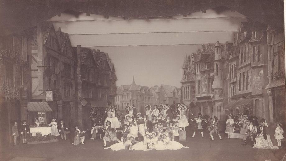 Scene from the ballet (1895)