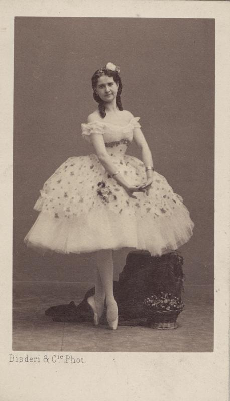 Maria Surovshchikova-Petipa as Lizetta (1864)