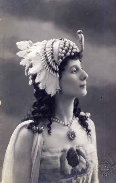 Anna Pavlova as Princess Aspicia (1906)