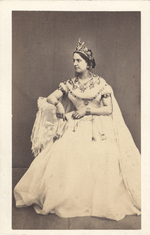 Carolina Rosati as Princess Aspicia (1862)