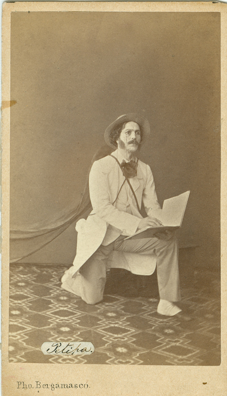 Marius Petipa as Lord Wilson (1862)