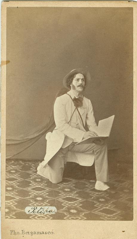 Marius Petipa as Lord Wilson (1862)