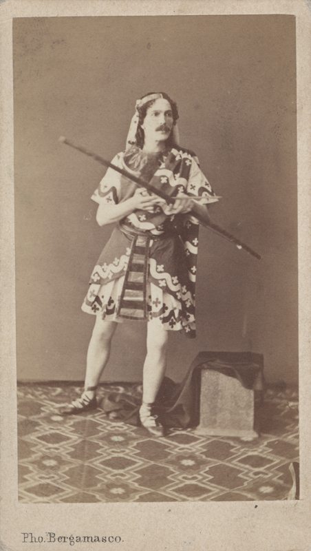 Marius Petipa as Ta-Hor (1862)