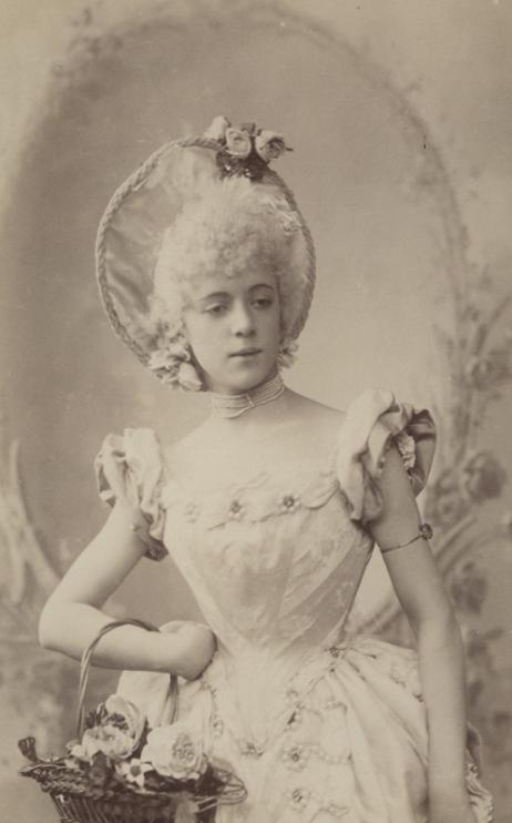 Olga Preobrazhenskaya as Chloë (1893)