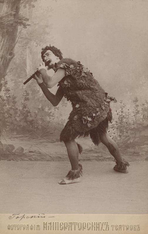 Alexander Gorsky as a Satyr (1900)