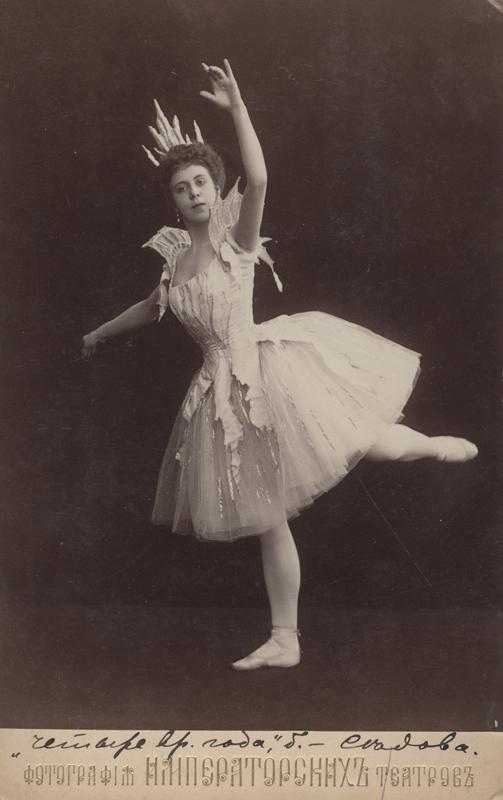 Julia Sedova as Ice (1900)