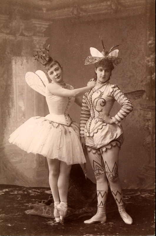 Maria Anderson as the Fairy Fleur de farine and Lyubov Rabtsova as her page (1890)