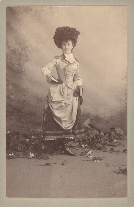 Matilda Kschessinskaya as the Marquise (1890)
